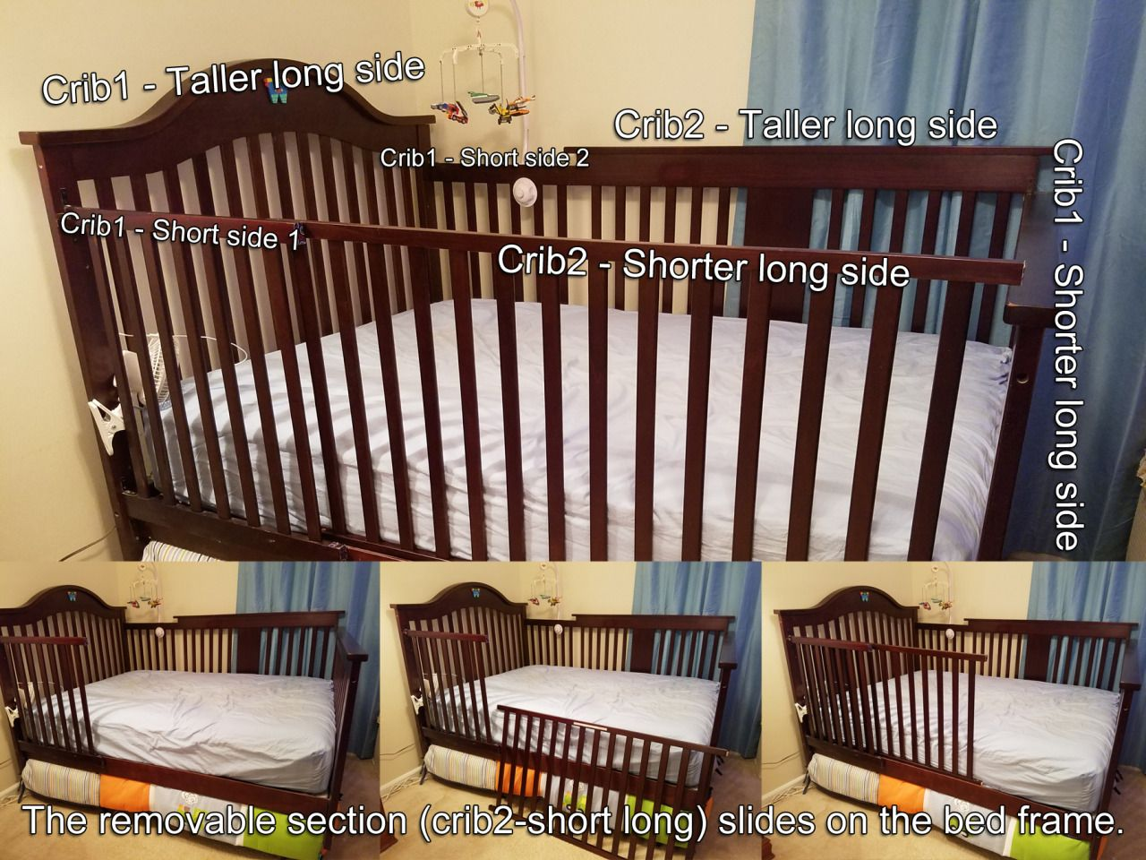 Diapercuck Toddler Bed Transition Baby Boy Rooms Cribs