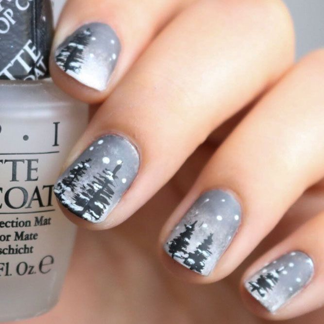 33 Cute Winter Nails Designs to Inspire Your Winter Mood | Winter ...