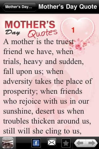 mothers day quotes best mother`s day quotes app for ipad