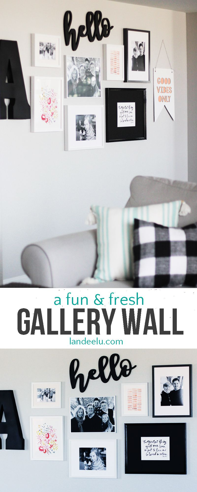Gallery wall idea fun and fresh gallery wall ideas and layouts