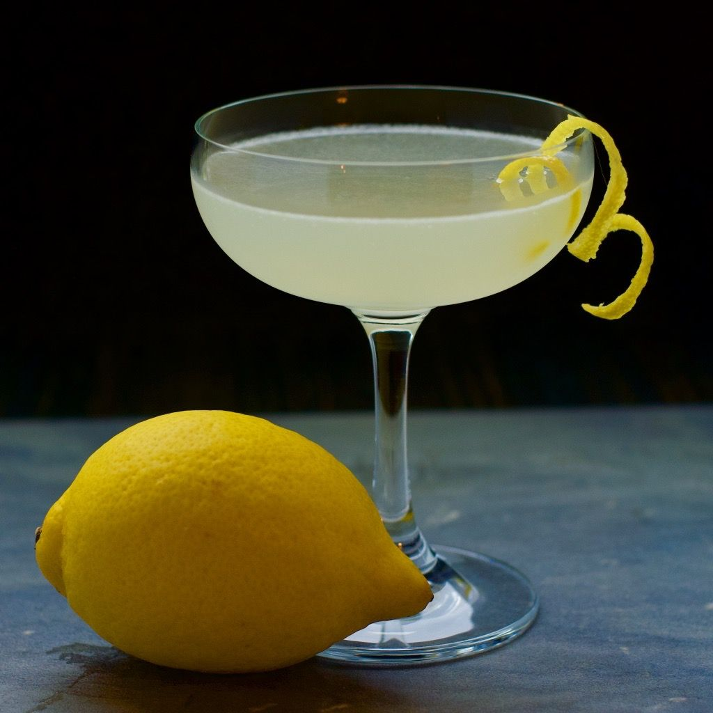The Gin Sour Lemon Gin Simple Bitters First Order Gin Recipe Gin Sour Gin Recipes Sour Cocktail