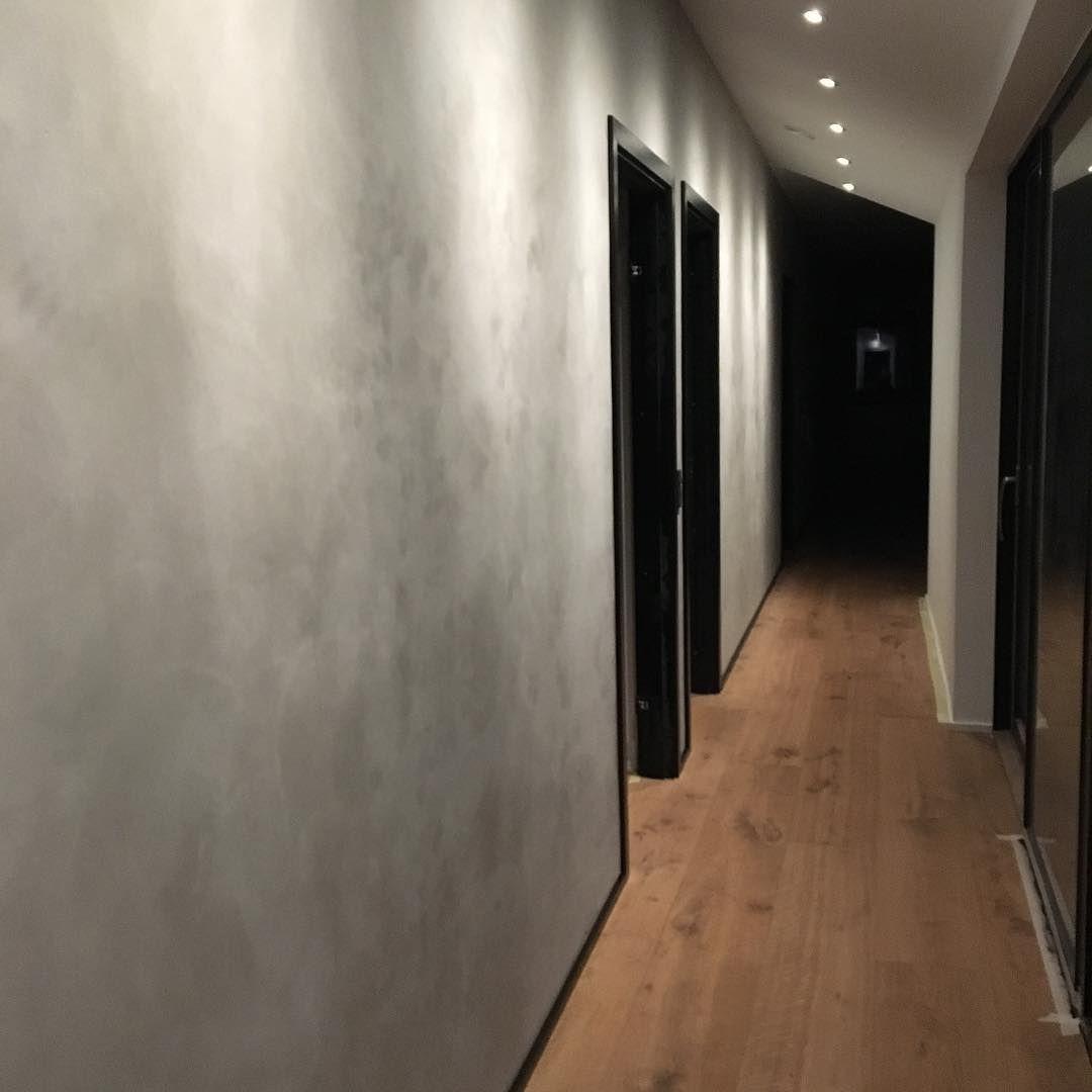 Fantastisk Den 19 meter lange væg lavet i spartel fra @kabecopenhagen er nu i YC65