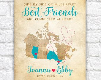Canada provinces map best friend gift ideas canadian bff map art canada provinces map best friend gift ideas canadian bff map art vancouver gumiabroncs Gallery