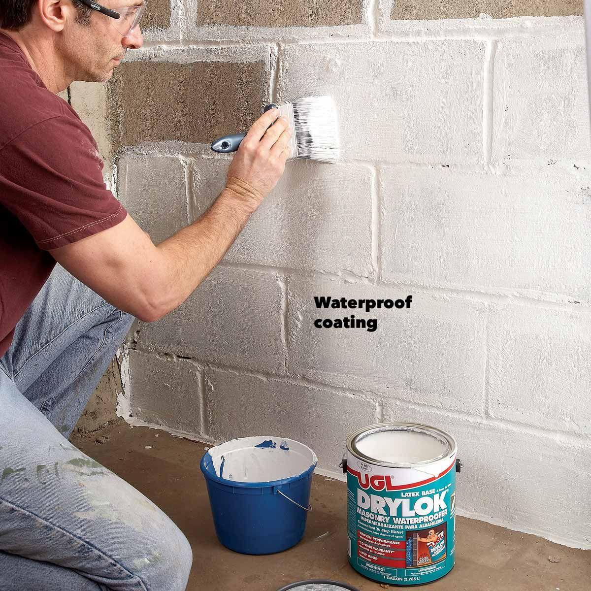 Do Waterproof Coatings Really Work Waterproofing Basement Wet