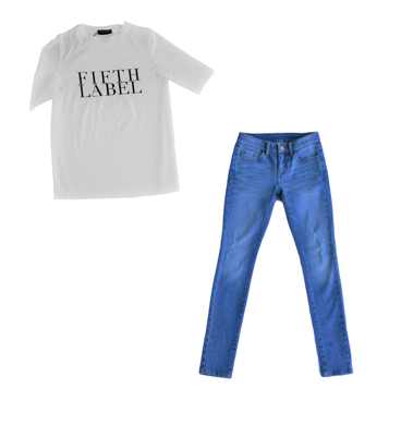 Collectabl Winter Capsule Wardrobe   Graphic Tee   Jeans