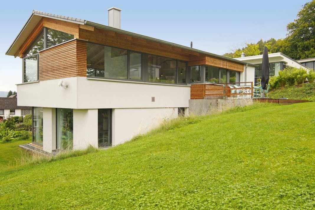 Günstig Bauen Mit Architekt ein grundstück in hanglage stellt eine besondere herausforderung dar