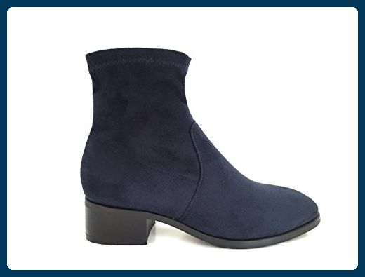 CHIC NANA , Damen Durchgängies Plateau Sandalen , blau - blau - Größe: 38 EU