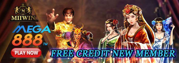 MEGA888 free credit new member
