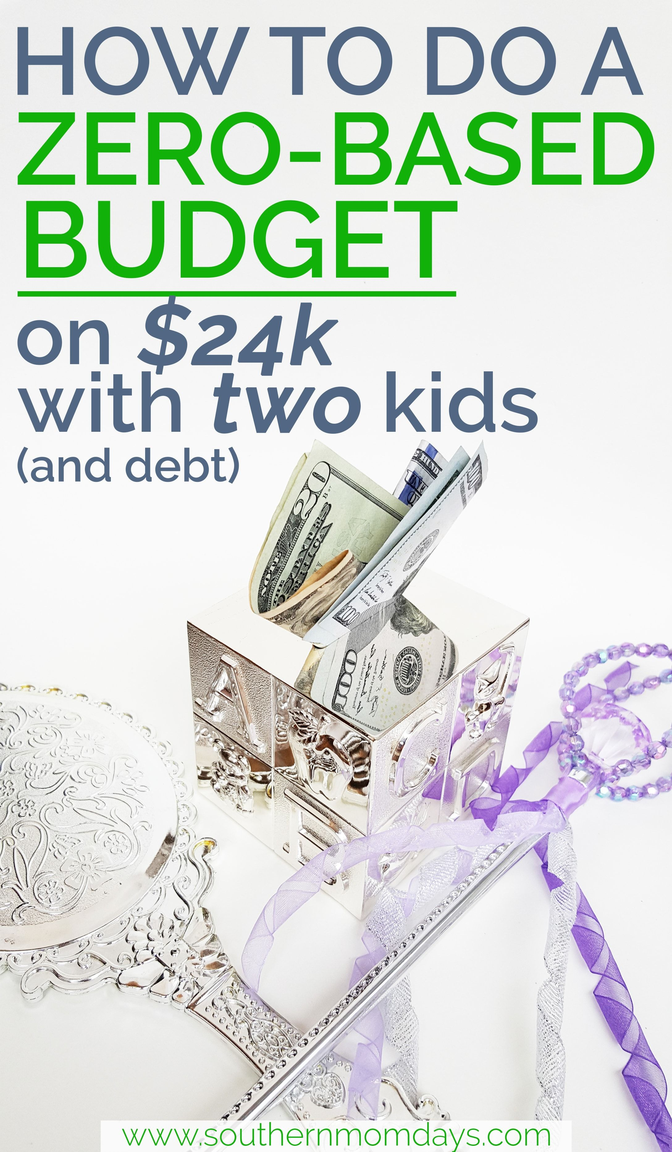 How To Do A Zero Based Budget On 24k With 2 Kids With