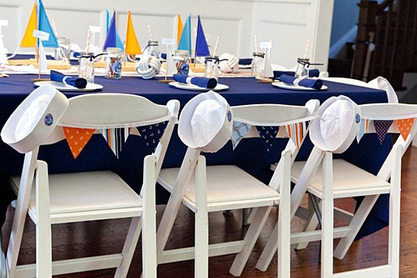 Attractive Vintage Nautical Birthday Party Dessert Table Tables Cape Decor For Kids