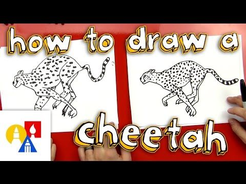 How To Draw A Cheetah - Art for Kids Hub