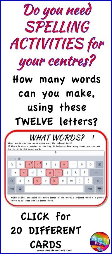 Independent Spelling Word Building Activity Literacy Centers Boggle