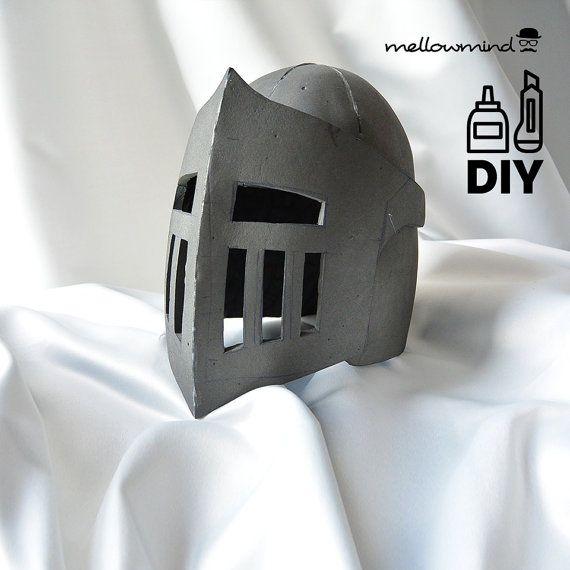 DIY Knight Helmet Template for EVA foam - version B   Helmets ...