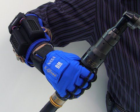 NASA and GM teamed up and created the K-Glove. It give users extra strength. Now everyone can be Superman.