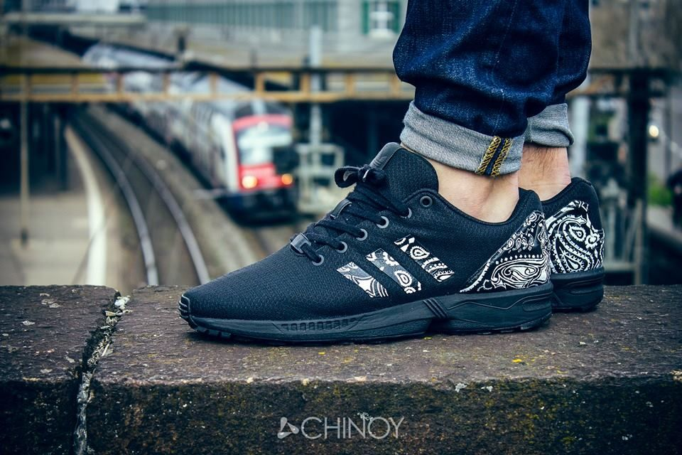 adidas zx flux on feet