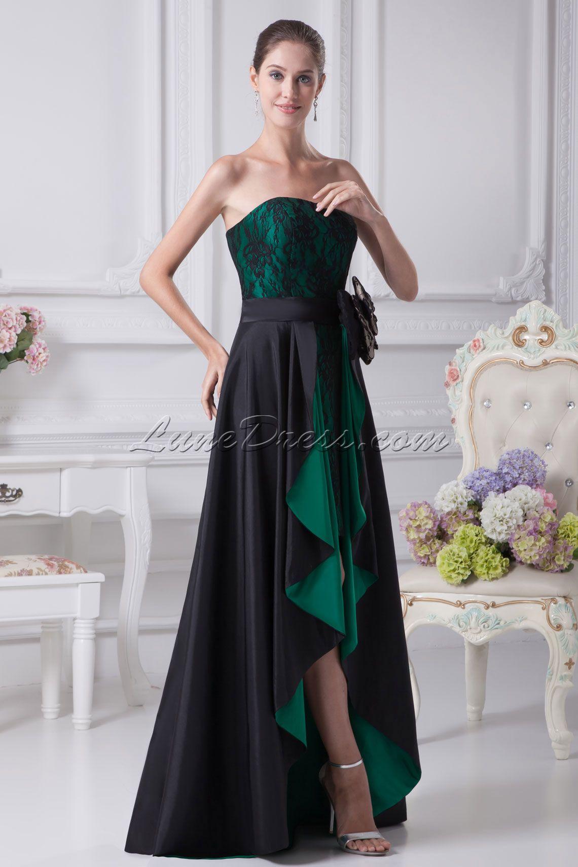 Black prom dress black prom dresses random pinterest black