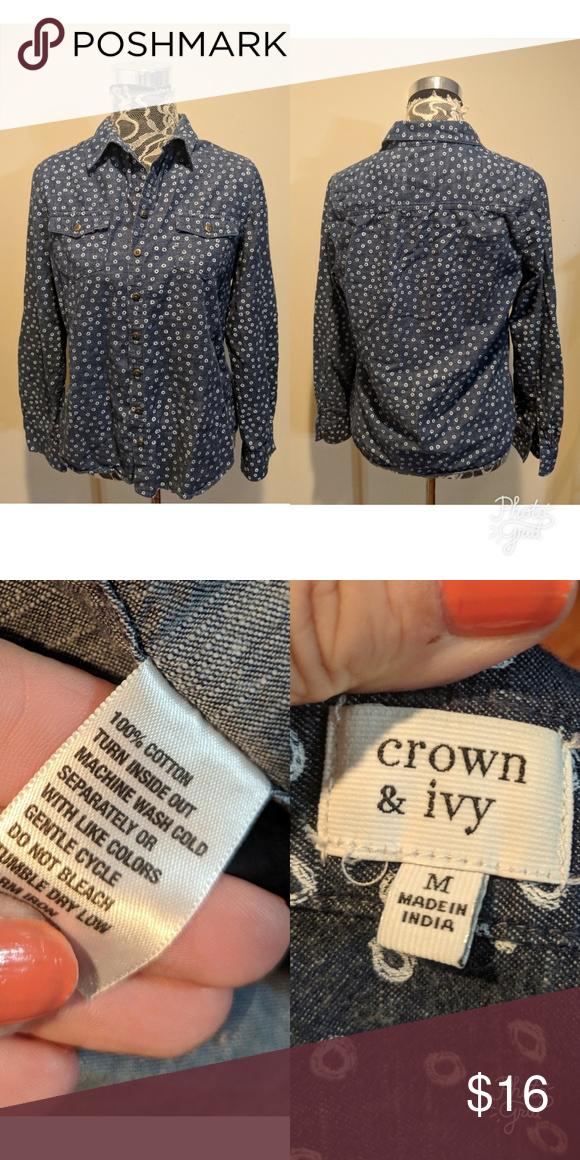 Crown & Ivy Top ❤️