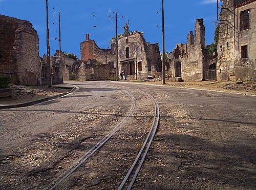 Oradour Sur Glane, France | Haunted places, History travel, Ghost towns