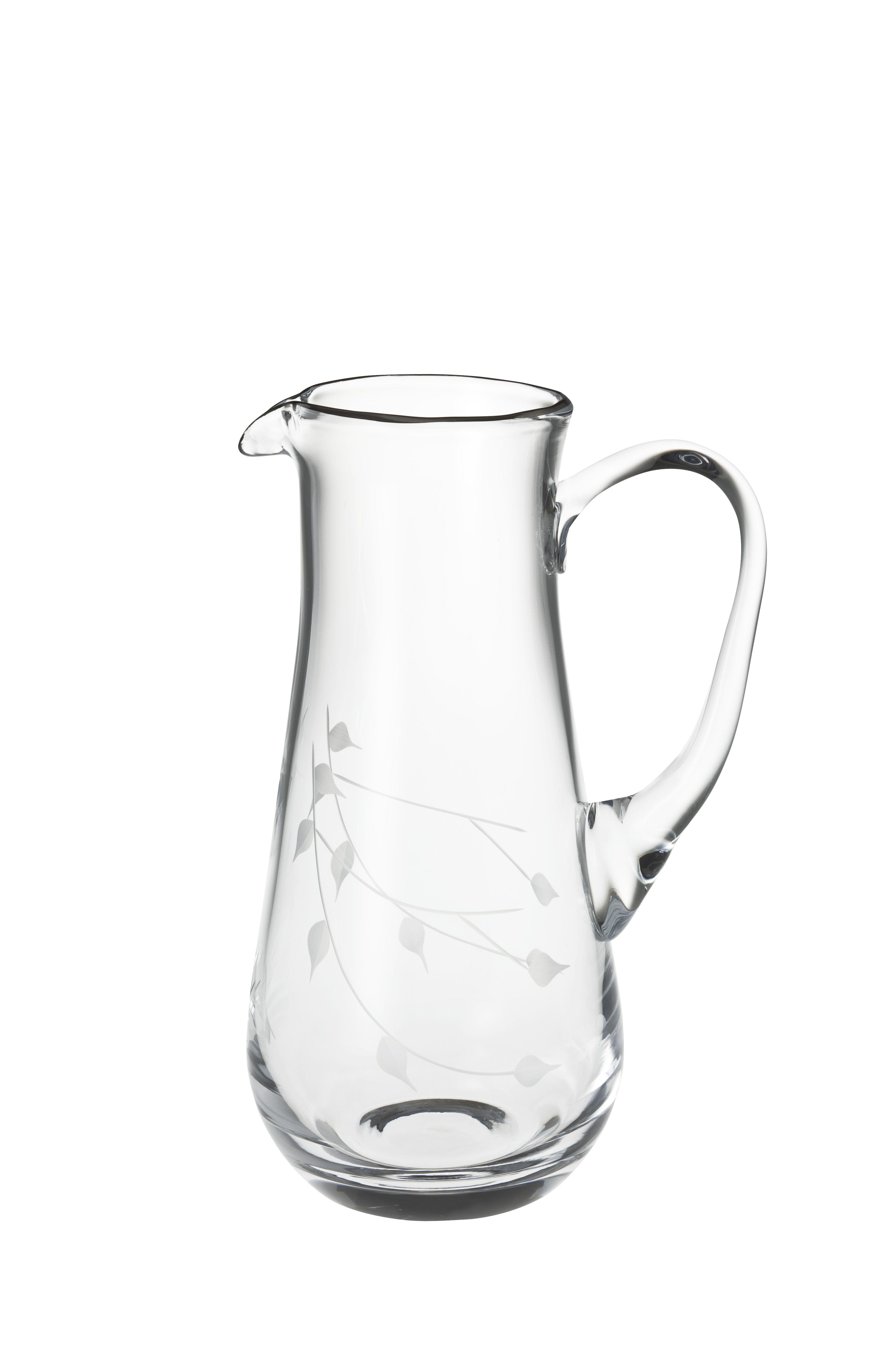 bernardo ninfa sürahi  water pitcher bernardo glass tabedesign  - bernardo ninfa sürahi  water pitcher bernardo glass tabedesign