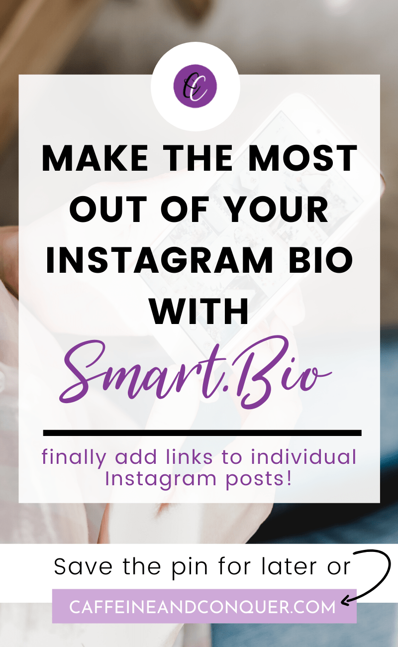 Instagram Bio How To Convert Leads Caffeine And Conquer In 2020 Instagram Marketing Tips Instagram Bio Instagram Marketing