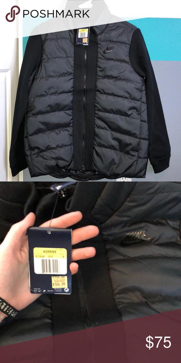 95c4a3a53d41 Woman s Nike Tech Fleece Down Jacket Tech Fleece down Jacket Size SMALL  Never worn Nike Jackets
