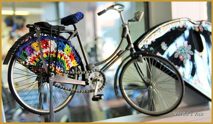 How I saw a picture of women cycling in folk costume and went to staphorst in search of a staphorster bike showing the cultural ersity in the Netherlands & The Staphorster Bike u0026 the Dutch Dressguard - Veritau0027s Visit ...