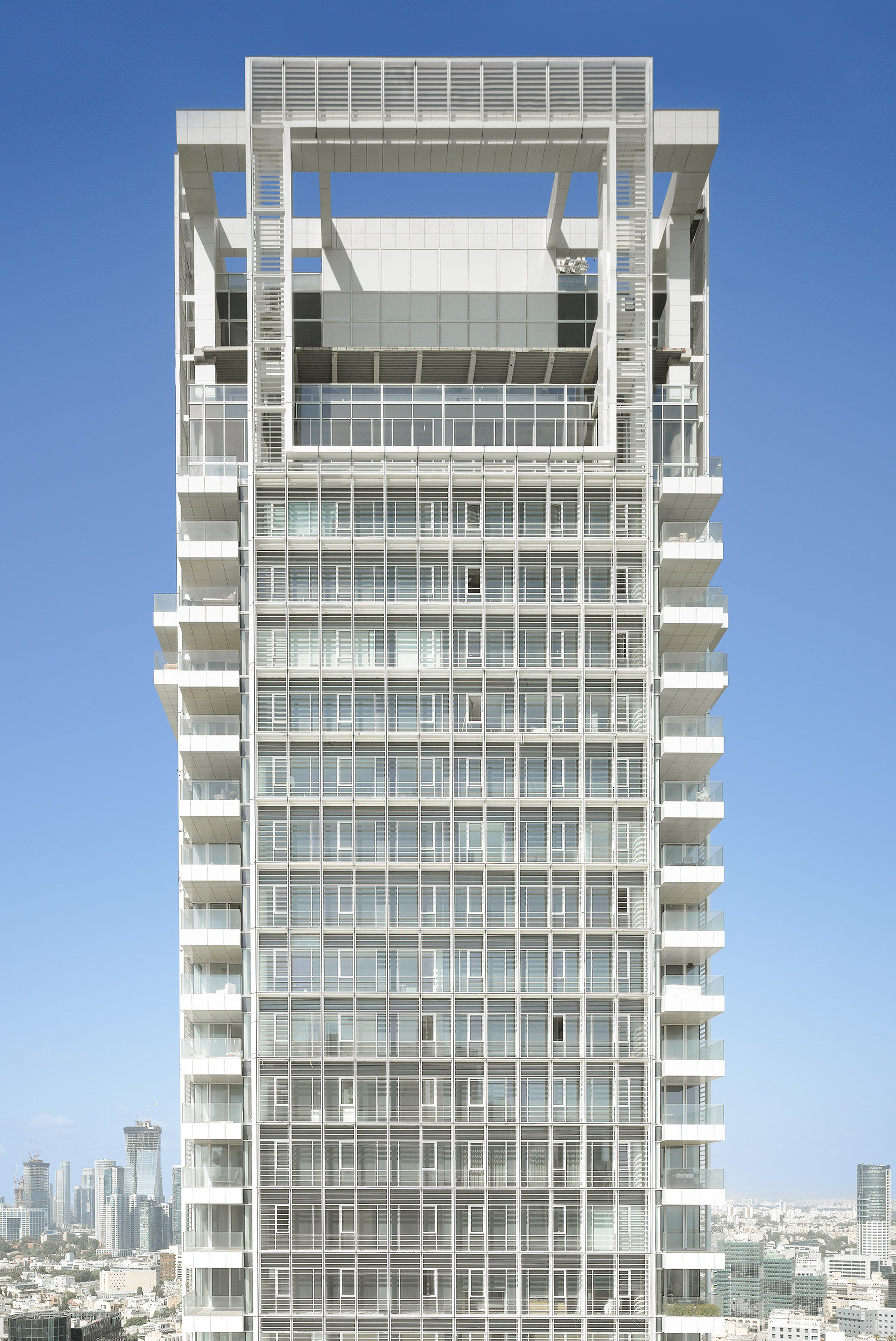 American architect Richard Meier has finished work on his first ...