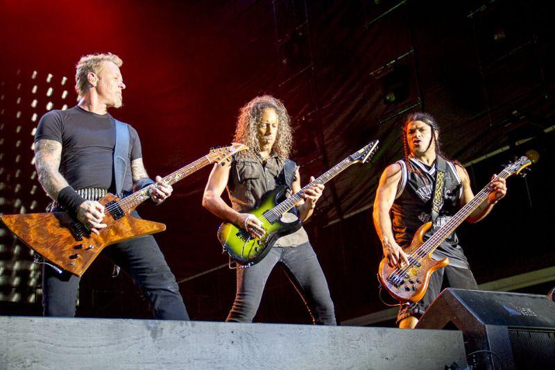 Mar 4, 2013 - Perth - Metallica