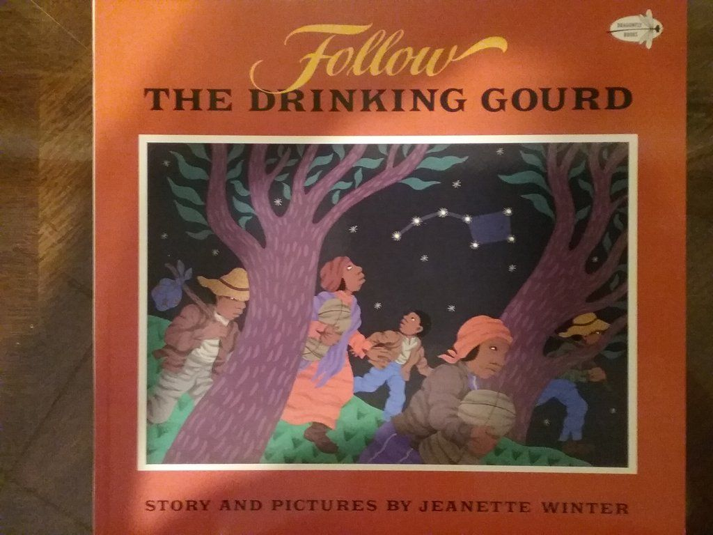 Follow The Drinking Gourd By Jeanette Winter Paperback