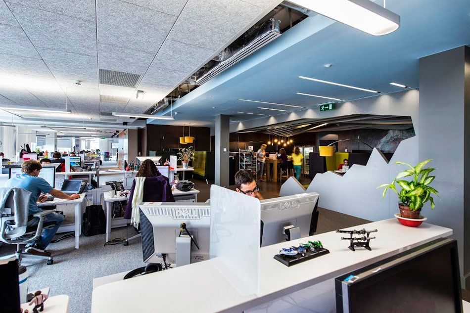google office environment. Camenzind Evolution\u0027s Google Office Flourishes In Dublin Environment