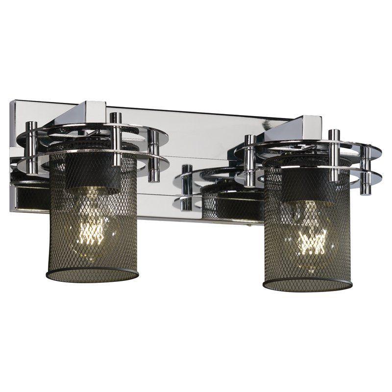 Justice Design Group Circa 8272-10 Vanity Light - MSH-8272-10-CROM