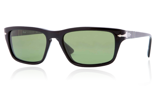 07e610e7c0d7 Persol PO3074S 95/P1 Polarized | Film Noir Edition | Suprema | Polar green  anti-glare treatment | Black | Polarized | Acetate