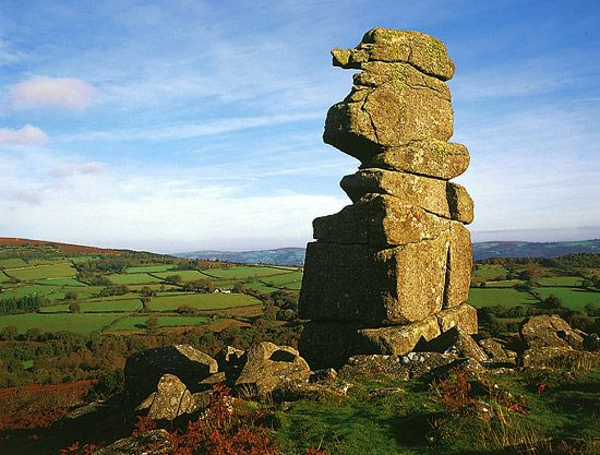 Bowerman's Nose, Dartmoor, Devon.