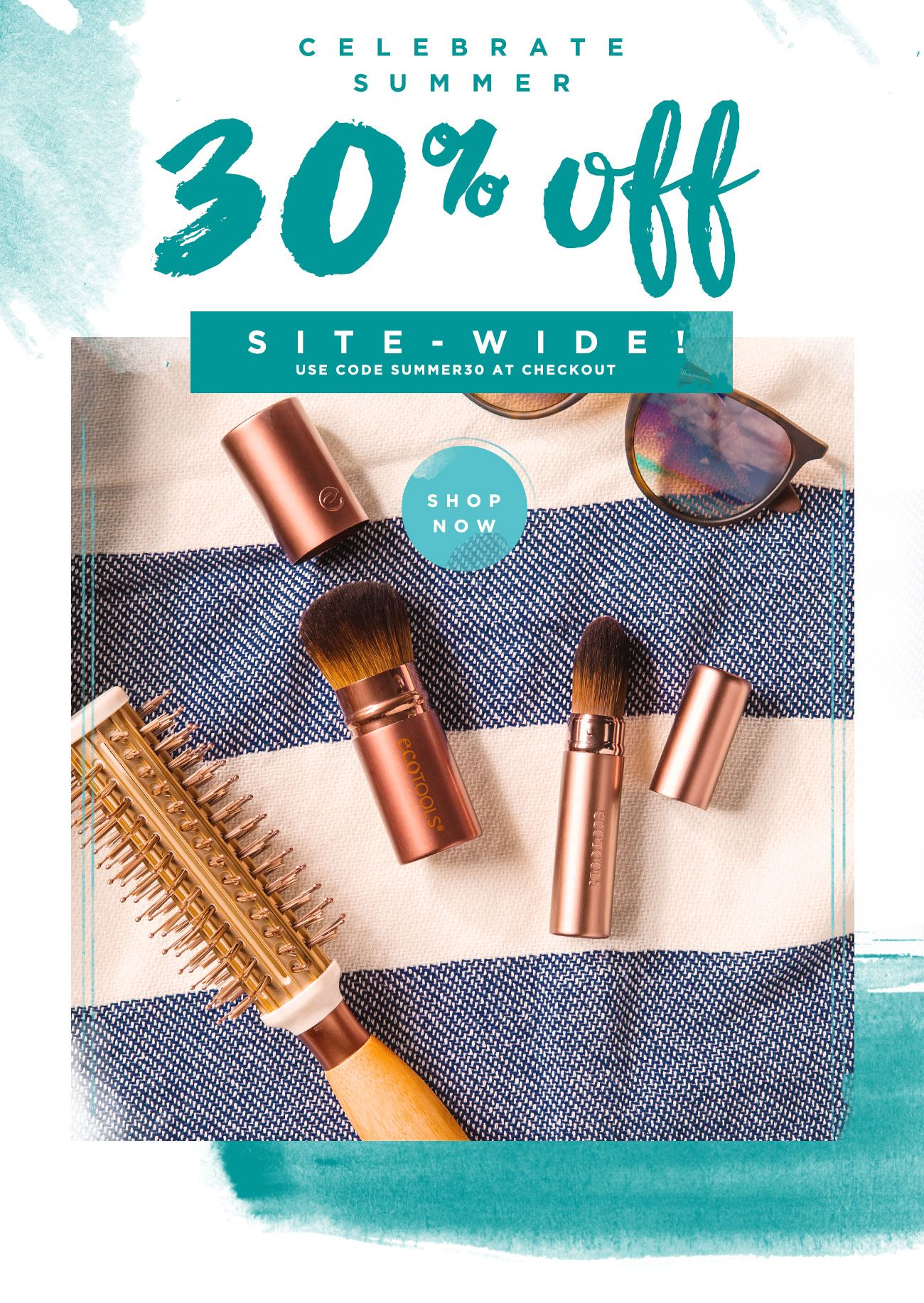 EcoTools 30 Off Your Favorite Brushes using SUMMER30