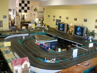 Slot Car Racing Cafe Restaurant Home Slot Car Racing Slot Car Tracks Slot Cars