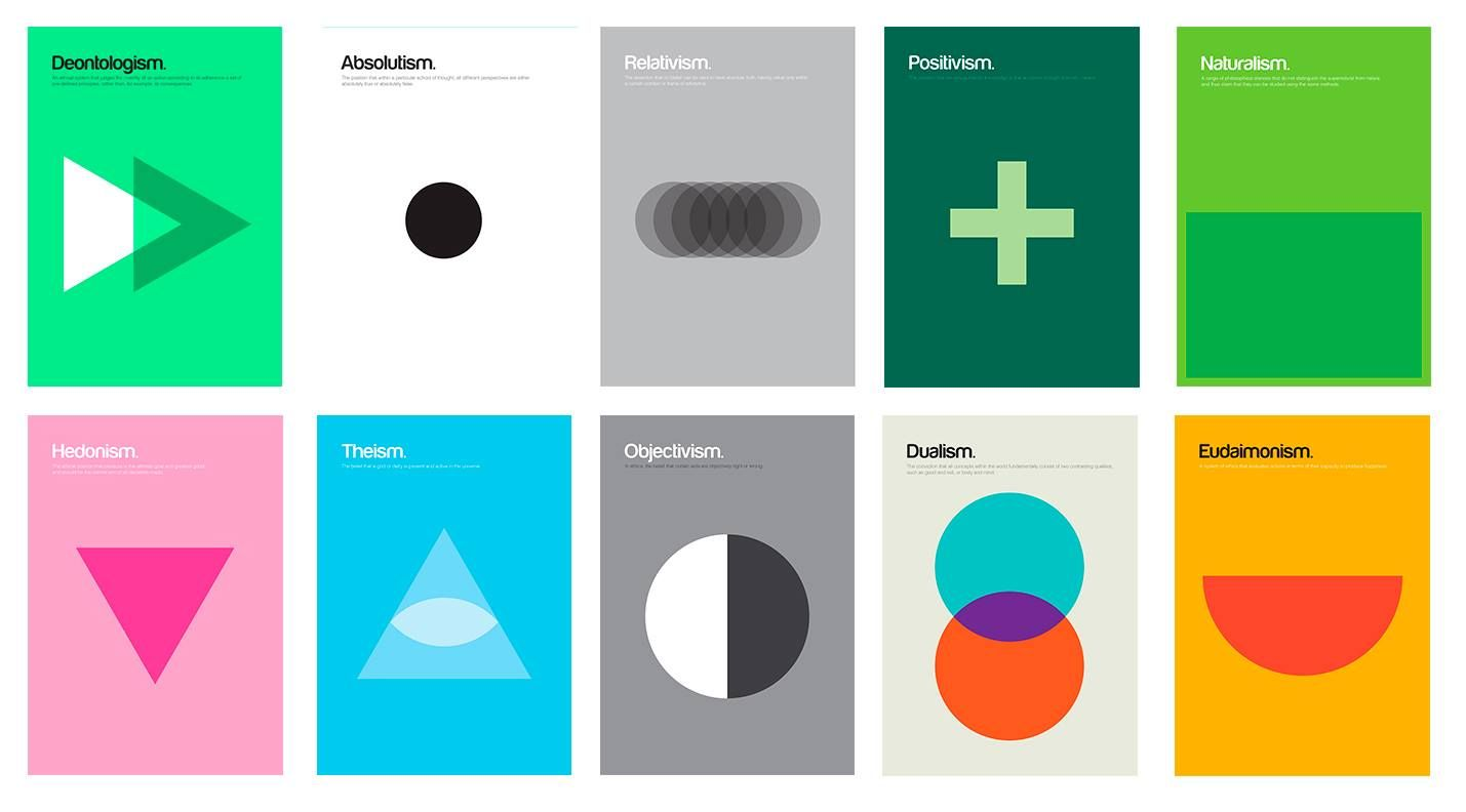 Dualism Existentialism Idealism Atomism And Eclecticism Are Philosophical Concepts With Great Significance In The In 2021 Visual Metaphor Simple Shapes Logo Shapes