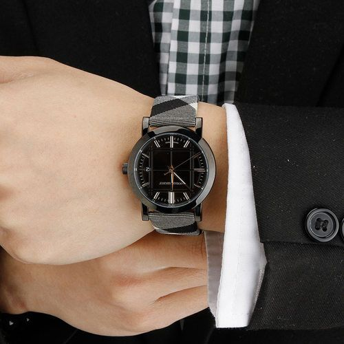burberry large stamped leather strap mens watch bu9017 bu1377 burberry stainless steel mens watches