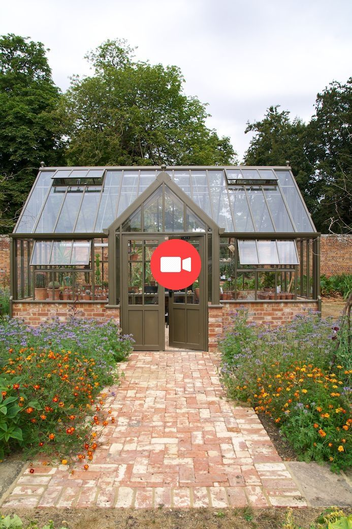 La maison de verre de la Victoria Lodge de Hartley Botanic