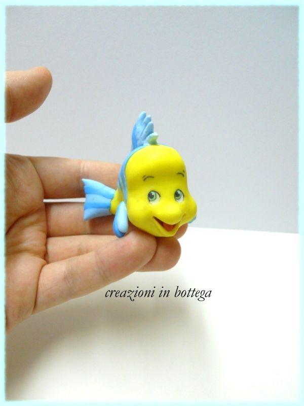 Flounder il pesciolino del cartone animato quot la sirenetta
