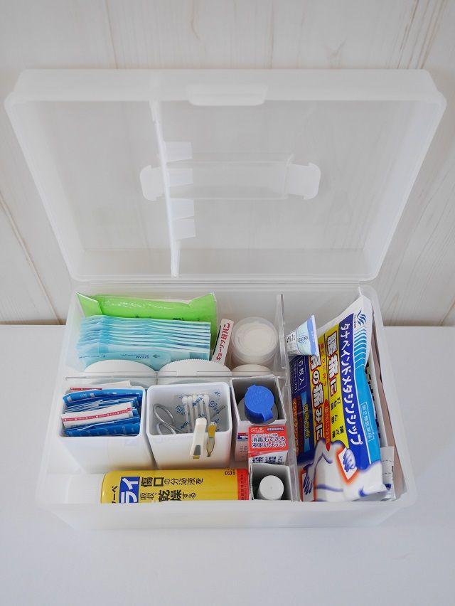 薬の収納は救急箱と引き出しの併用で 目的に合わせて使い分ける 片づけ収納ドットコム 救急箱 収納 片づけ