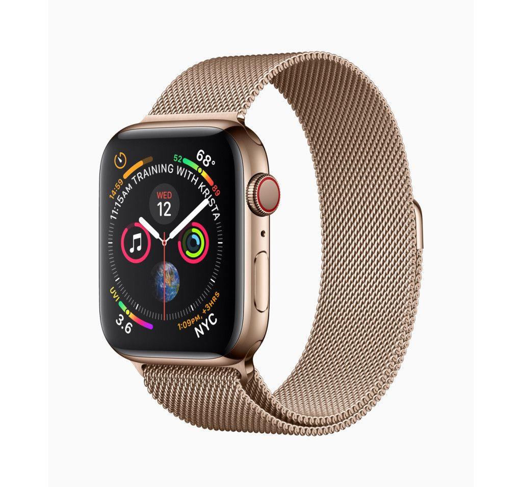 Apple watch rose gold pink milanese mesh loop band strap