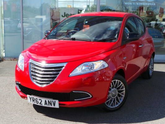 Used 2012 62 Reg Clay Red Chrysler Ypsilon 12 Se 5dr For Sale On