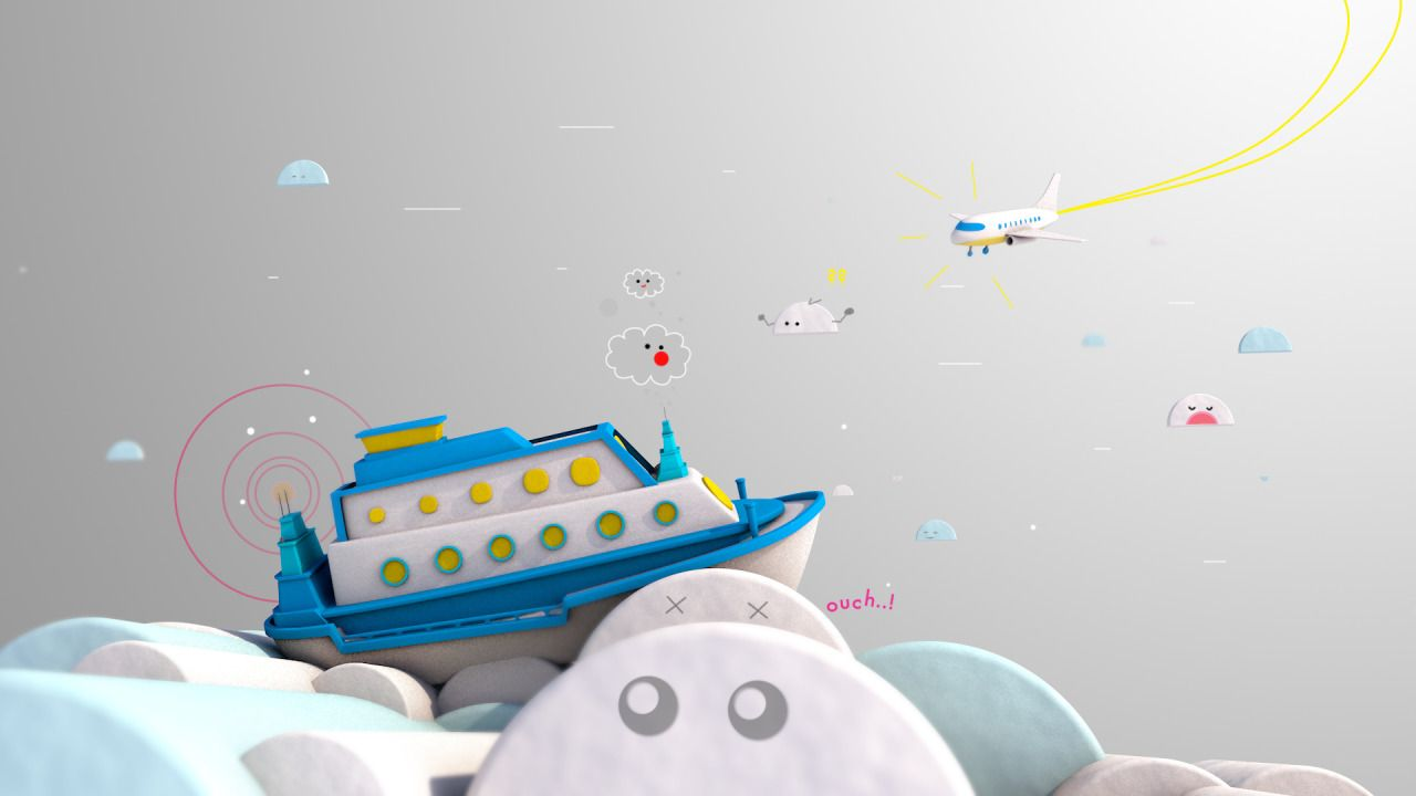 4 June 2015 - Missing ship in the sky