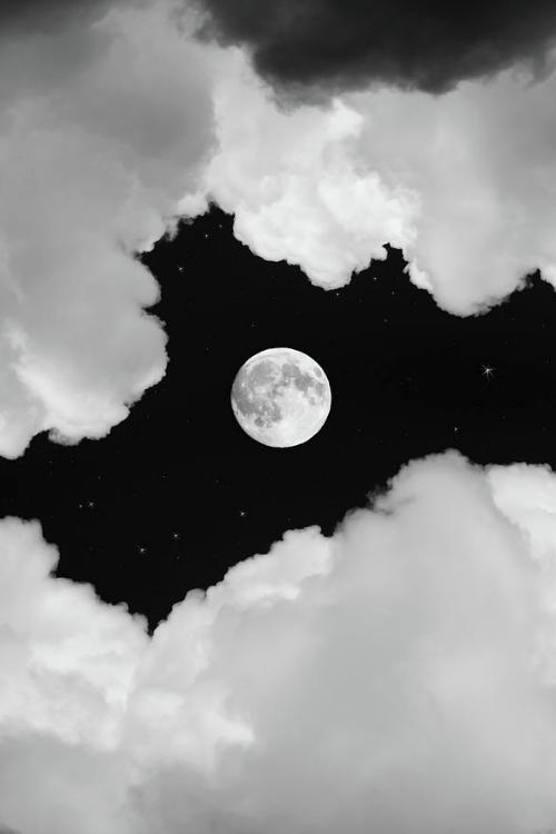 Sfondo disegno luna