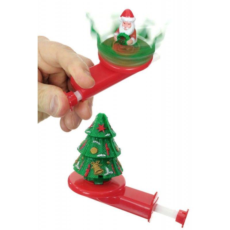 santa in spinning christmas tree windup spin christmas tree and santa