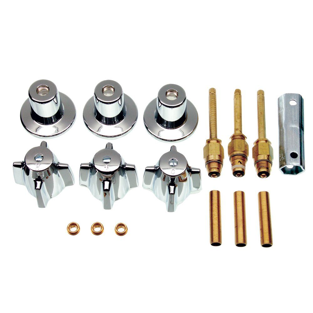 Remodel Kit For Central Brass Faucets For 3 Handle Faucets With