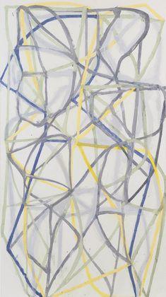 Brice Marden. Couplet IV. 1988-89, MoMA, NY