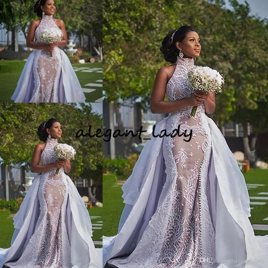 Discountplus Szie African Wedding Dresses With Detachable Train 2019 Modest High Neck Puffy Skirt Sima Brew Country Garden Royal Wedding Gown From Alegant Lady Royal Wedding Gowns Wedding Dress Couture Wholesale Wedding Dresses [ 1024 x 1024 Pixel ]