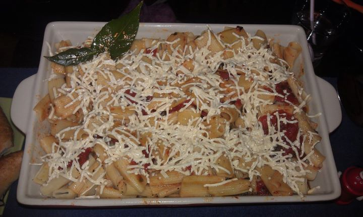 (vegan) Baked Ziti my absolute favourite dish. This turned out wonderful! *Rachael Ray inspired