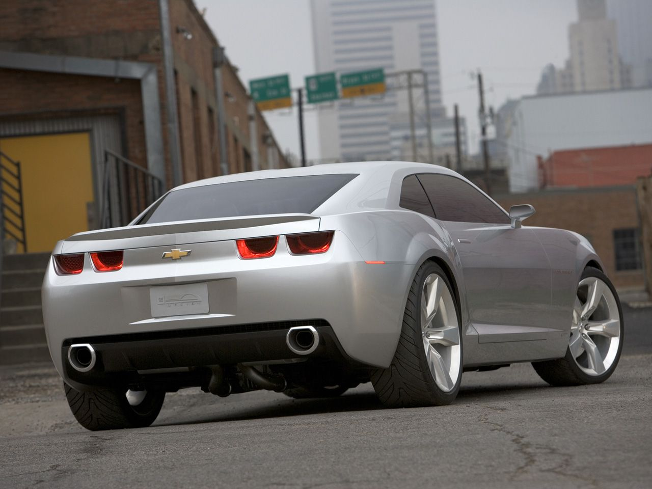 Chevrolet Camaro Concept Car Pictures And Wallpapers 3262